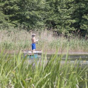 am Gamensee, Mittelsee und Langer See